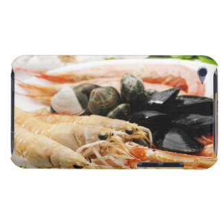 Shrimp and mussels iPod Case-Mate case