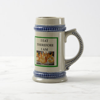 shrimp beer stein