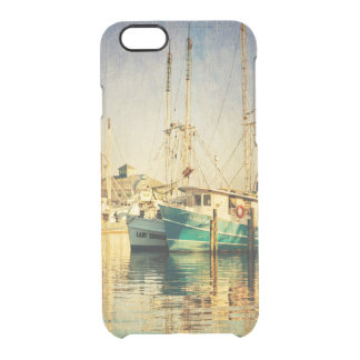 Shrimp Boat at the Harbor Clear iPhone 6/6S Case