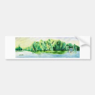 Shrimp Boat Bumper Sticker