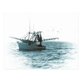Shrimp Boat Postcard
