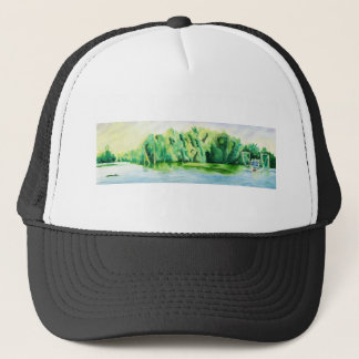 Shrimp Boat Trucker Hat