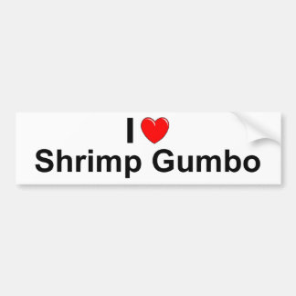 Shrimp Gumbo Bumper Sticker