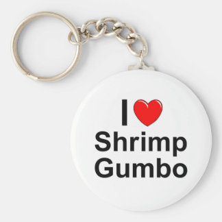 Shrimp Gumbo Key Ring