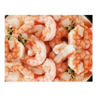 Shrimp In Beer Recipe Postcard