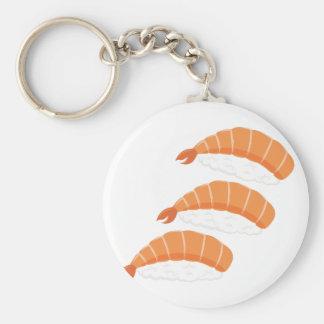 Shrimp Sushi Key Ring