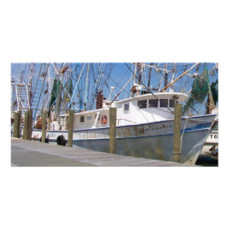 Shrimpers Photo Greeting Card