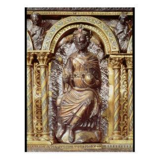 Shrine of Emperor Charlemagne Postcard