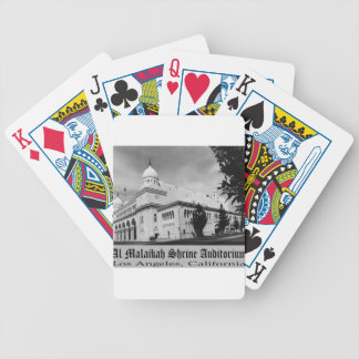 shrineauditorium bicycle playing cards