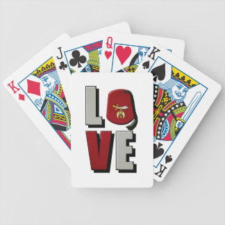 shrinelove bicycle playing cards