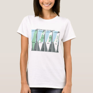 Shrinking Map of Palestine T-Shirt