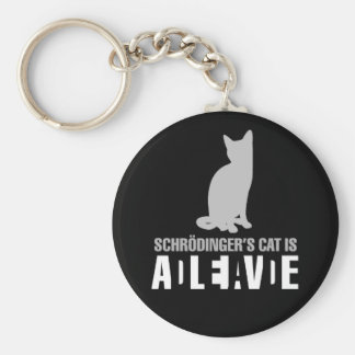 Shrodinger s Cat Keychain