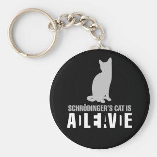 Shrodinger's Cat Keychain