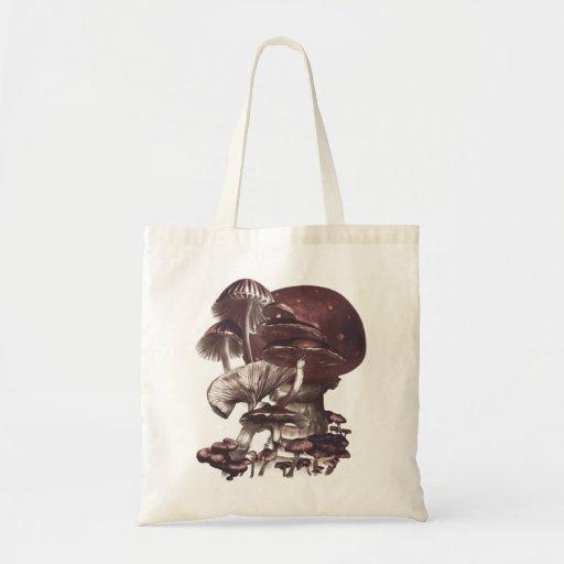 Shrooms Tote Budget Tote Bag
