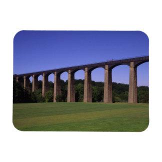 Shropshire Union Canal Aqueduct, Pont Cysyllte, Rectangular Photo Magnet