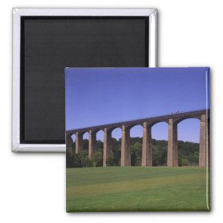 Shropshire Union Canal Aqueduct, Pont Cysyllte, Square Magnet