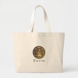 Shroud of turin designs tote bag