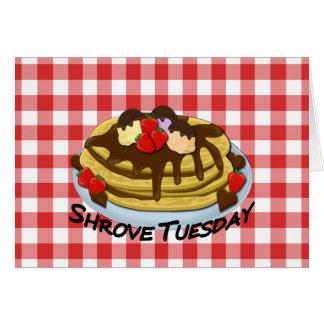 Shrove Tuesday - pancakes Card