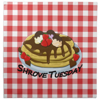 Shrove Tuesday - pancakes Napkin