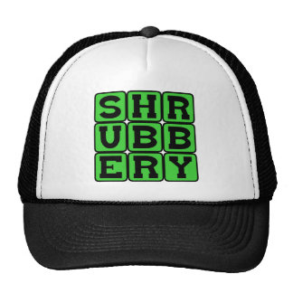 Shrubbery The Holy Grail of Plant Life Mesh Hat
