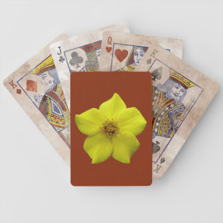 Shrubby Cinquefoil #1 Bicycle Playing Cards