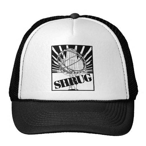 SHRUG Inspired by the Novel Atlas Shrugged Hat