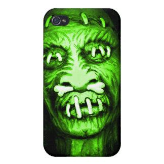 Shrunken Head Zombie iPhone 4/4S Covers