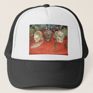 Shrunken Heads Voodoo Display Trucker Hat