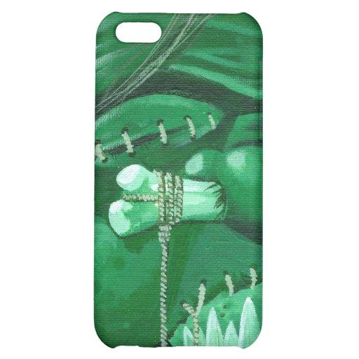 """""""Shrunken Zombie Head"""" iPhone 5C Covers"""