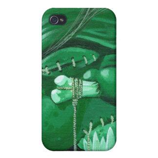 """""""Shrunken Zombie Head"""" iPhone 4/4S Cover"""