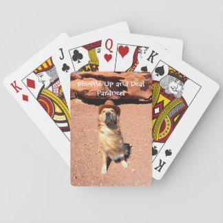 Shuffle Up and Deal with Cowboy Henry Playing Cards