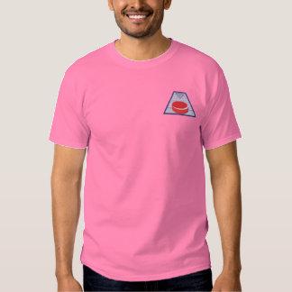 Shuffleboard Embroidered T-Shirt