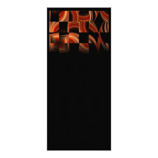 Shuffled Fractal Abstract Art Full Color Rack Card