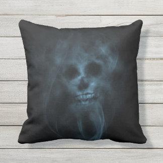 Shull In Smoke Throw Pillow