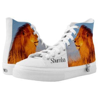 Shumba Zipz High Top Shoes