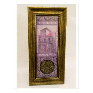SHUSH Museum Exhibit 08: Lost Treasure Painting Postcard