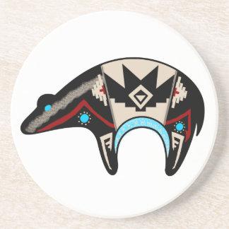 Shush - Navajo Bear Sandstone Coaster