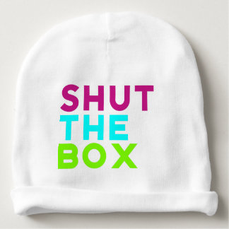Shut The Box Logo Baby Beanie