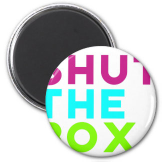 Shut The Box Logo Magnet