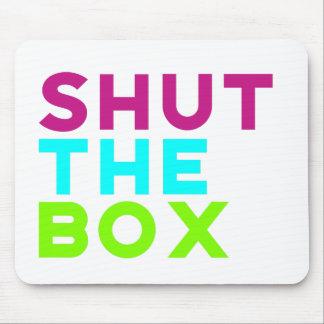 Shut The Box Logo Mouse Pad