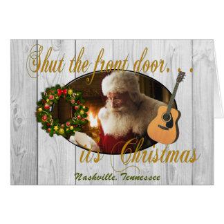 Shut the Front Door Nashville Christmas Card