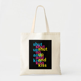 Shut up and kiss, Girls Power Tote Bag