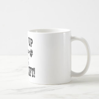 Shut Up And Lift Weightlifting Coffee Mug