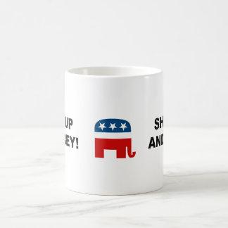 Shut up and obey mugs