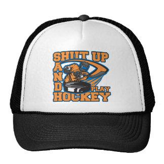 Shut Up and Play Hockey Trucker Hat
