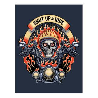 Shut Up & Ride -11116 Postcard