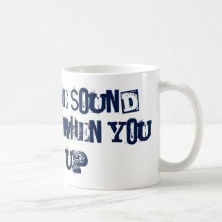 Shut Up - time for silence Coffee Mug