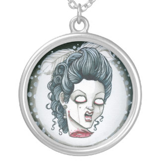 """Shut your Cakehole!"" Silver Plated Necklace"