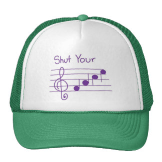 shut your face cap