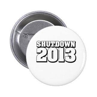 Shutdown 2013 button